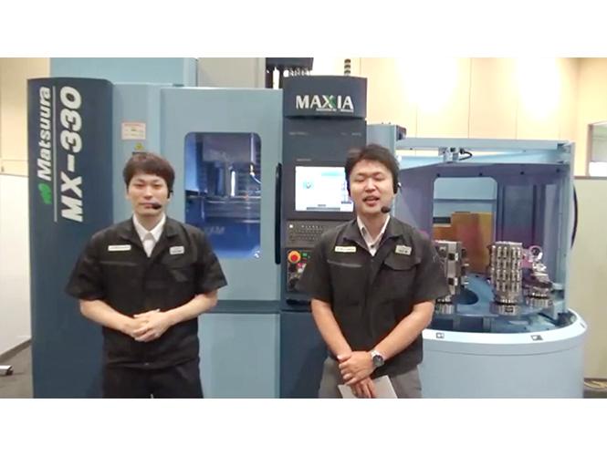 新たな試みとしてのオンライン展示会支援 松浦機械製作所様
