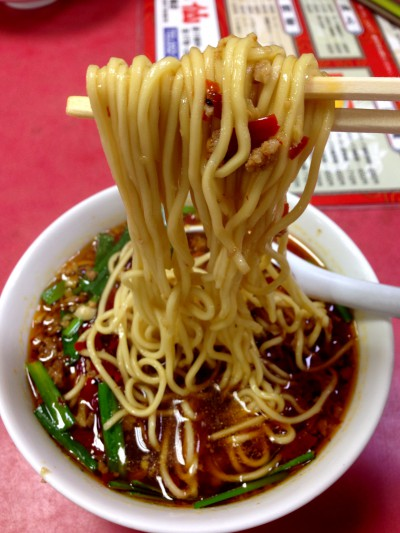 味仙の台湾ラーメン2